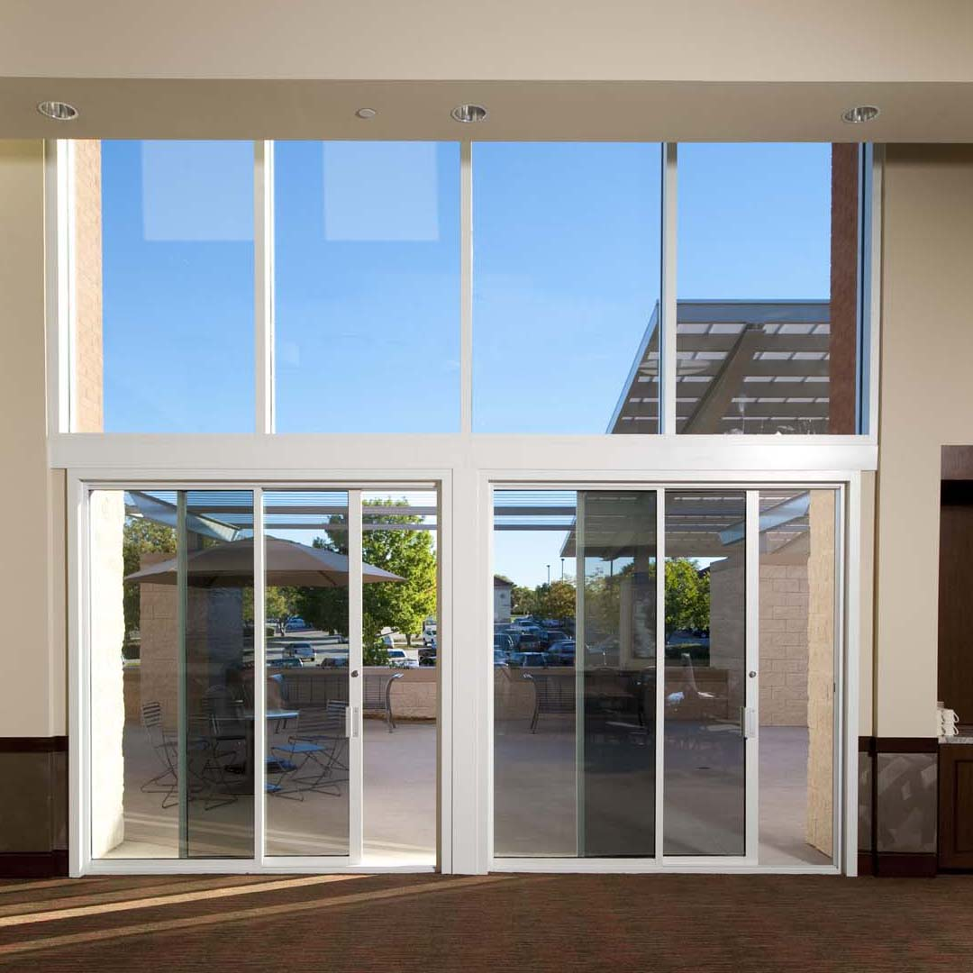 Hurst Conference Center Hurst TX USA Ron Hobbs Architects Garland  & Product Catalog: Commercial Sliding Door Systems Aluminum Exterior ...