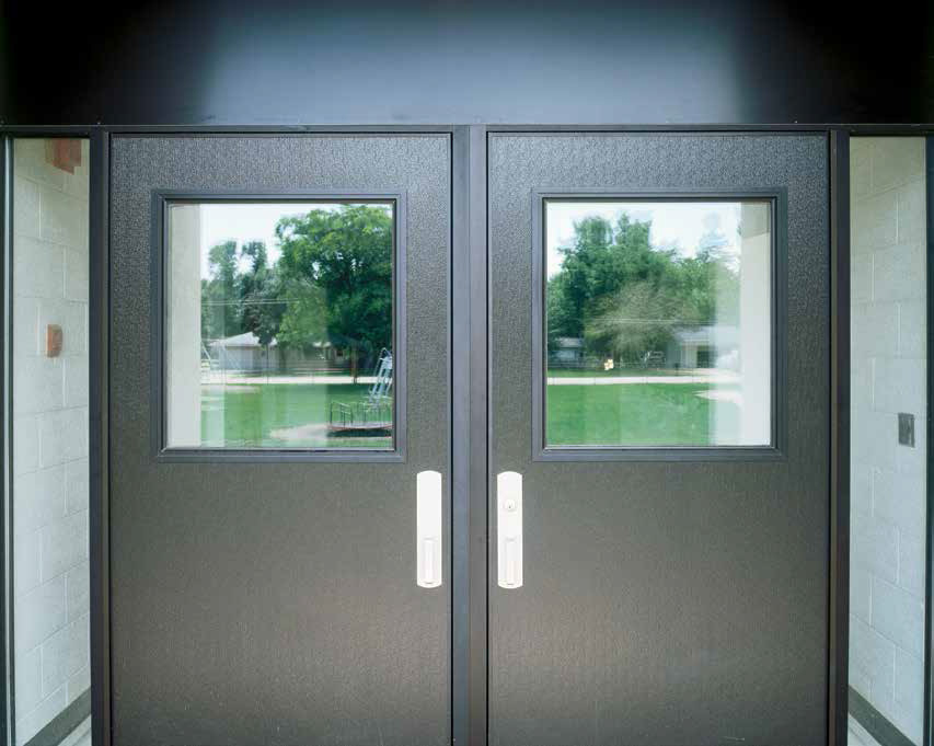 Commercial Aluminum Doors : Product catalog flushline™ commercial aluminum flush