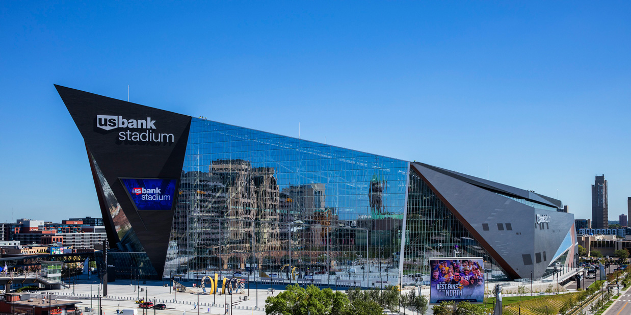 U.S. Bank Stadium - Home of the Minnesota Vikings