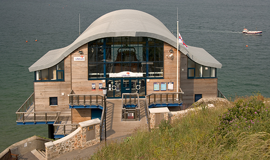 Tenby Lifeboat Station, Pembrokeshire: Bondesign Associates